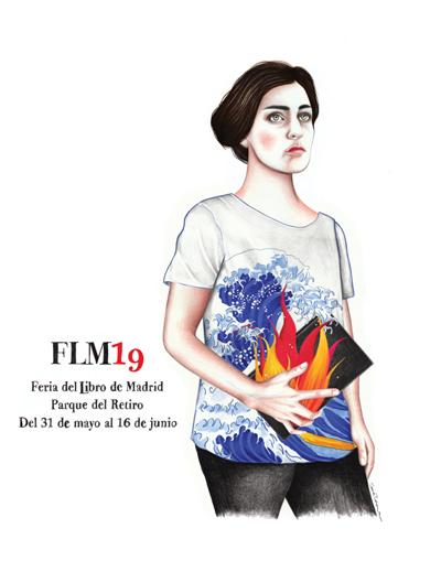 Cartel de la Feria del Libro de Madrid 2019