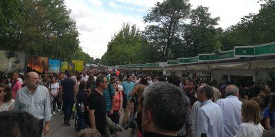 Un paseo por la Feria del Libro de Madrid