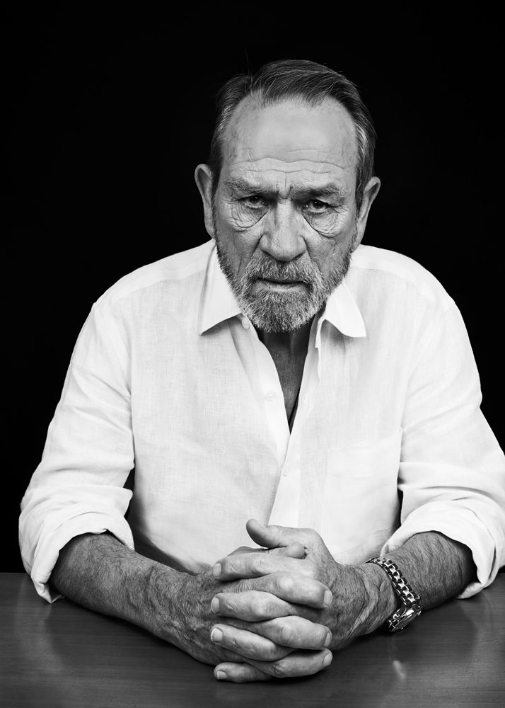 El actor y director Tommy Lee Jones