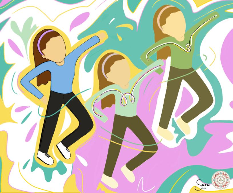La danza aúna cuerpo, alma y lenguaje. Ilustración: Sara Sosa