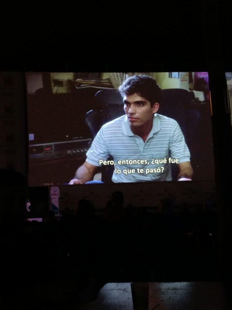 El Cine+Food proyectó la película cubana Fresa y Chocolate (Tabío, 1993). Foto: C.R.
