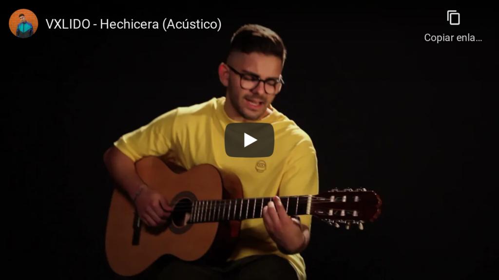 Vxlido y su canción Hechicera